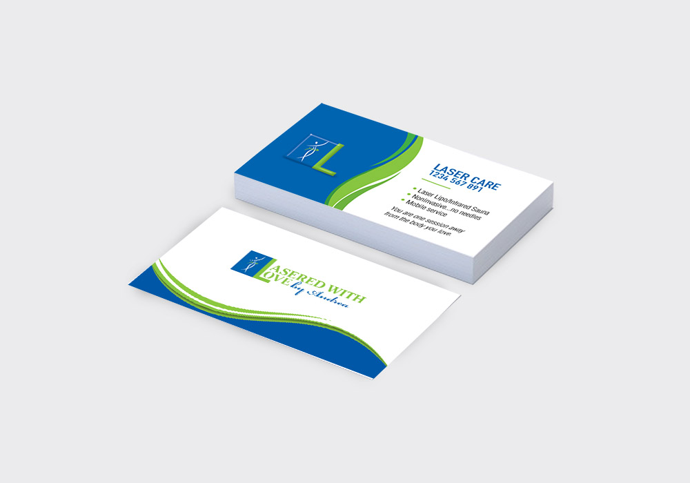 14 pt Glossy Business Cards