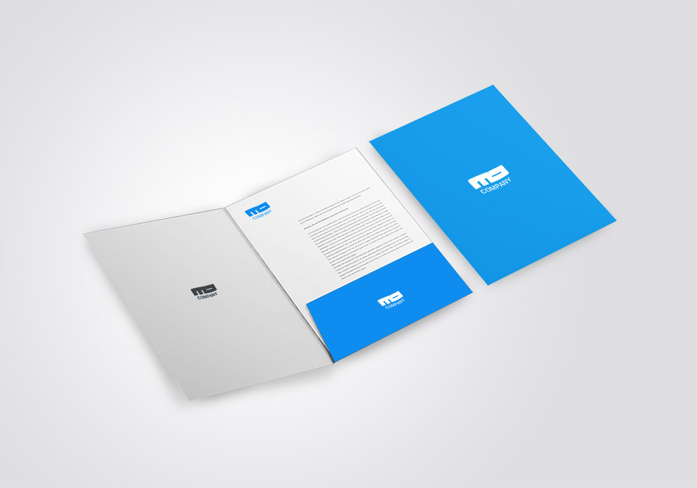 Presentation Folders with 4