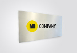 Aluminum Heavy Duty Signs