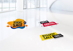 Vinyl Flexible Floor Graphics 4 mil