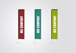 Fabric Pole Banners